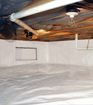 crawl space repair system in Oakland