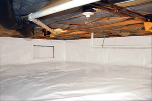 Crawl Space Repair After in San Francisco