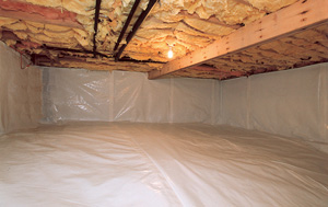 CleanSpace® vapor barrier after in San Francisco