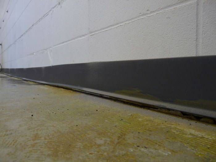 A Sinking Floor Leaving A Large Gap Between The Wall And Floor In A Santa  Clara ...