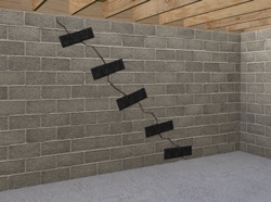 CarbonArmor® Wall Repair in Hayward, Vallejo, Sunnyvale, San Mateo, Concord, Daly City, Berkeley