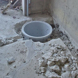 Placing a sump pit in a Berkeley home