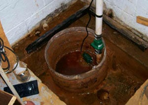 Extreme clogging and rust in a Sunnyvale sump pump system