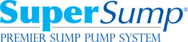 Logo for our SuperSump® Pump System, available in Salinas and other parts of California